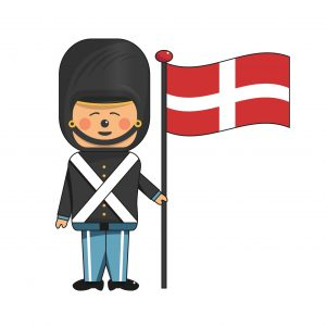 garde-med-flag